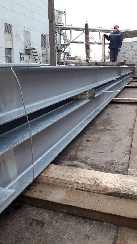 Ногинский завод металлоконструкций изготовил и поставил металлоконструкции здания и кровли школы