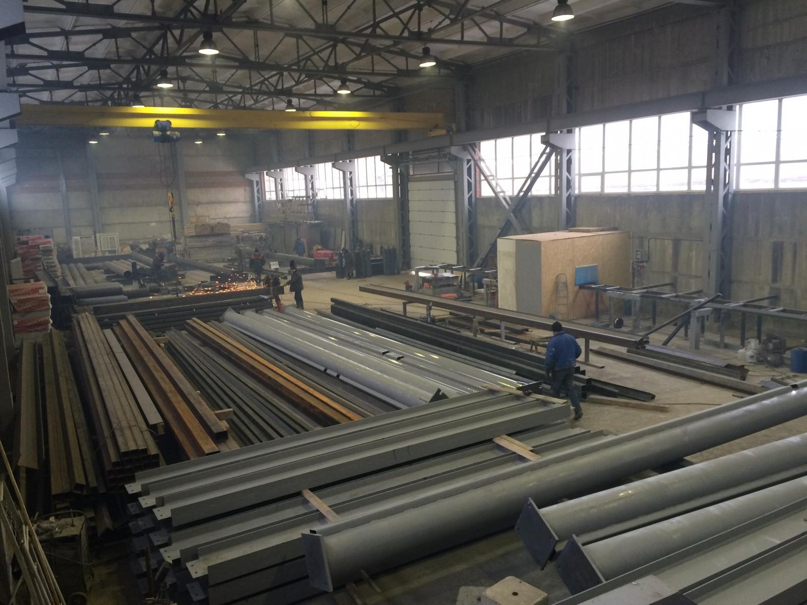 Ногинский Завод Металлоконструкций не только успешно выполнил заказ на изготовление и монтаж промышленного здания
