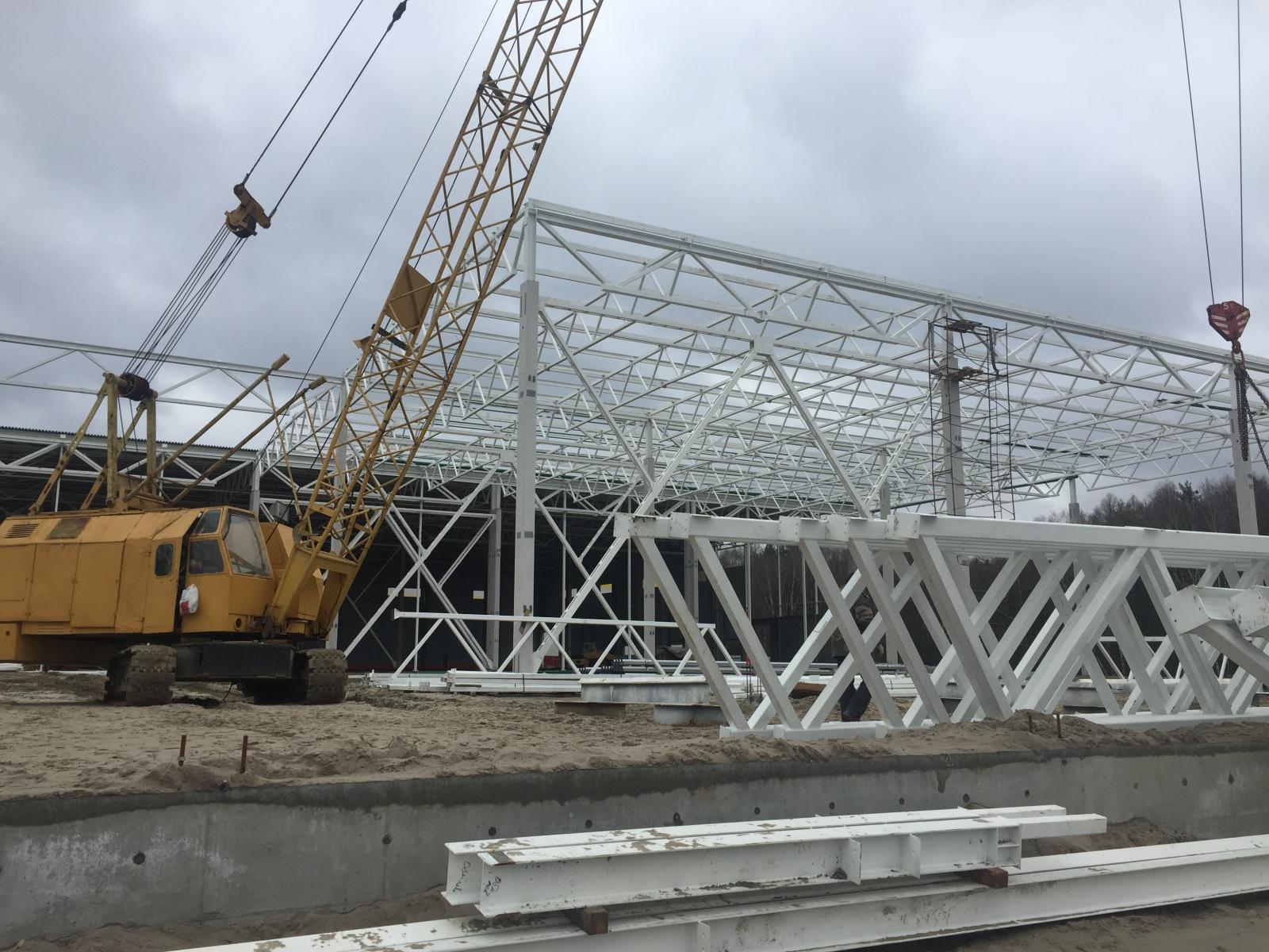 завод металлоконструкций, который изготовит и поставит полнокомплектное здание в кратчайшие сроки.